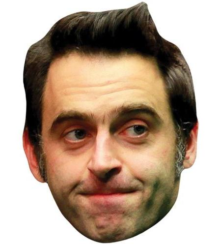 A Cardboard Celebrity Big Head of Ronnie O'Sullivan