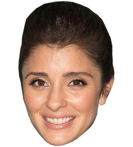 A Cardboard Celebrity Big Head of Shiri Appleby