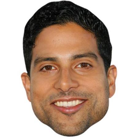 A Cardboard Celebrity Big Head of Adam Rodriguez