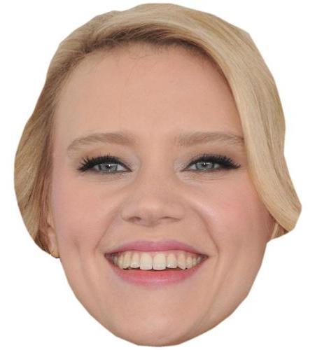 A Cardboard Celebrity Big Head of Kate McKinnon