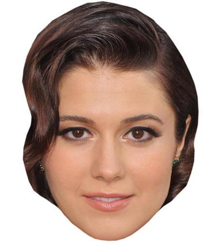 A Cardboard Celebrity Big Head of Mary Elizabeth Winstead