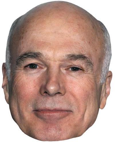 A Cardboard Celebrity Big Head of Michael Hogan