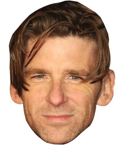 A Cardboard Celebrity Big Head of Paul Anderson