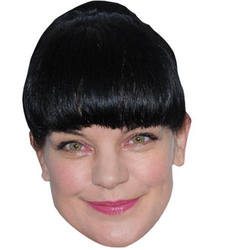 A Cardboard Celebrity Big Head of Pauley Perrette