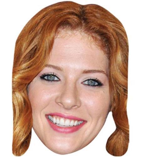 ACardboard Celebrity Big Head of Rachelle Lefevre