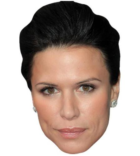 A Cardboard Celebrity Big Head of Rhona Mitra
