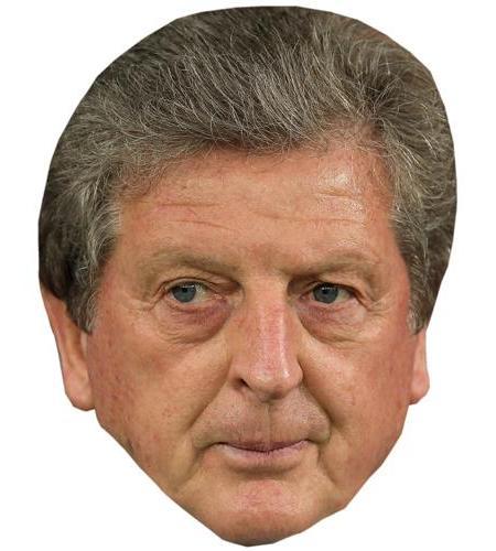 A Cardboard Celebrity Big Head of Roy Hodgson