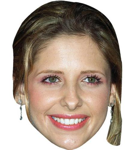 A Cardboard Celebrity Big Head of Sarah Michelle Gellar