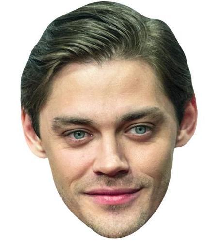 A Cardboard Celebrity Big Head of Tom Payne