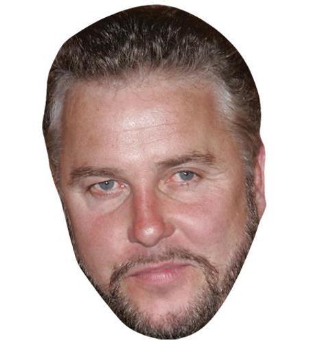 A Cardboard Celebrity Big Head of William Petersen