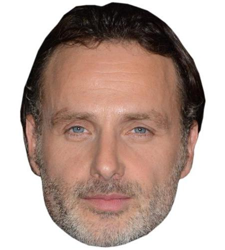 A Cardboard Celebrity Big Head of Andrew Lincoln