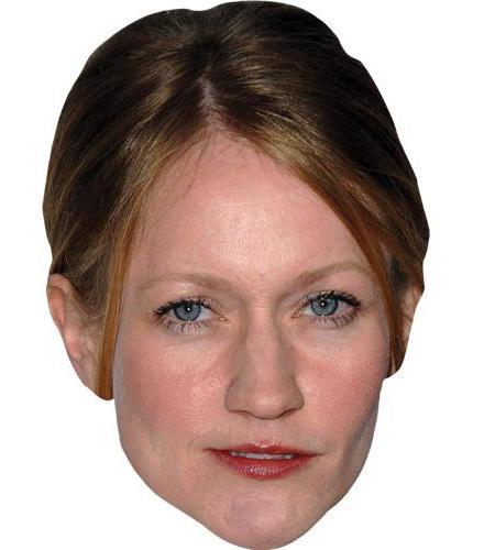 A Cardboard Celebrity Big Head of Paula Malcomson