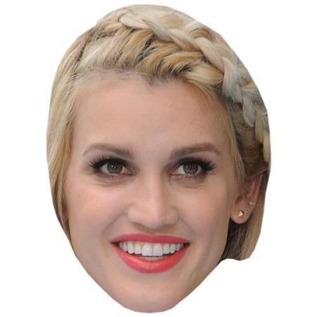 A Cardboard Celebrity Big Head of Ashley Roberts