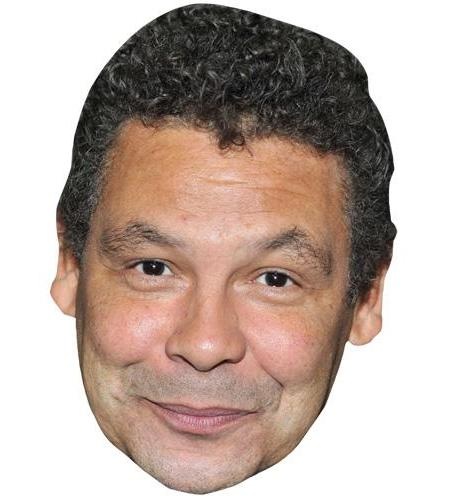 ACardboard Celebrity Mask of Craig Charles