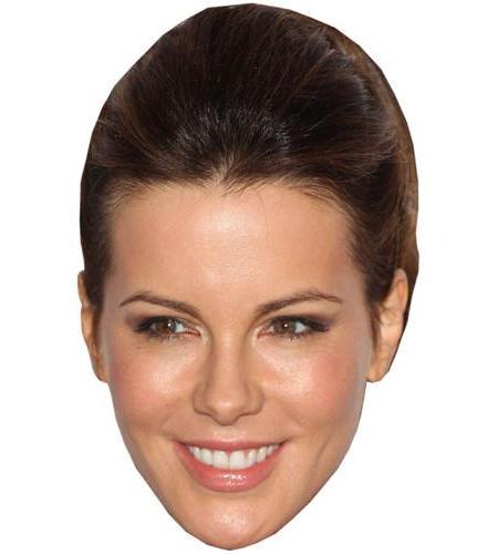 A Cardboard Celebrity Big Head of Kate Beckinsale