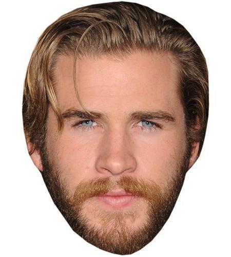 A Cardboard Celebrity Big Head of Liam Hemsworth