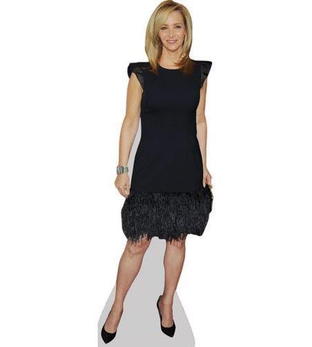 A Lifesize Cardboard Cutout of Lisa Kudrow wearing black