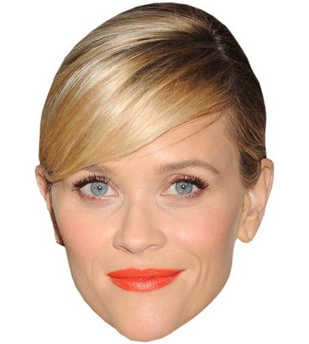 A Cardboard Celebrity Big Head of Reese Witherspoon