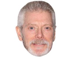 A Cardboard Celebrity Mask of Stephen Lang