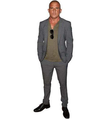 A Lifesize Cardboard Cutout of Dominic Purcell