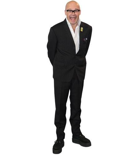A Lifesize Cardboard Cutout of Harry Hill