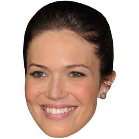 A Cardboard Celebrity Big Head of Mandy Moore