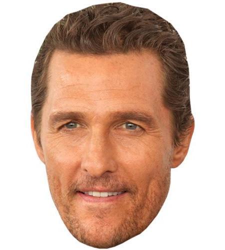 A Cardboard Celebrity Big Head of Matthew McConaughey