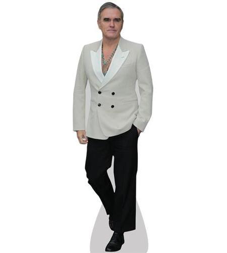 A Lifesize Cardboard Cutout of Morrissey