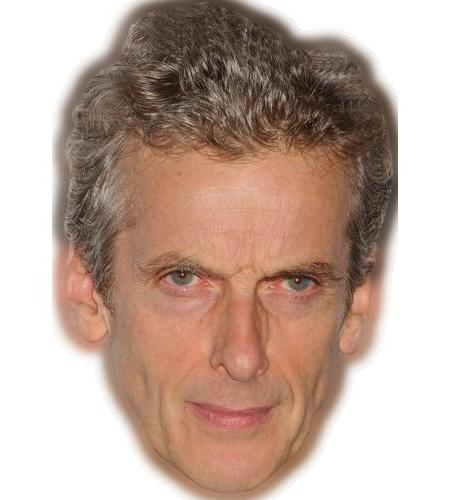 A Cardboard Celebrity Big Head of Peter Capaldi