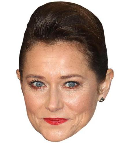 A Cardboard Celebrity Big Head of Sidse Babett Knudsen