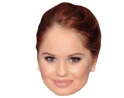 A Cardboard Celebrity Mask of Debby Ryan