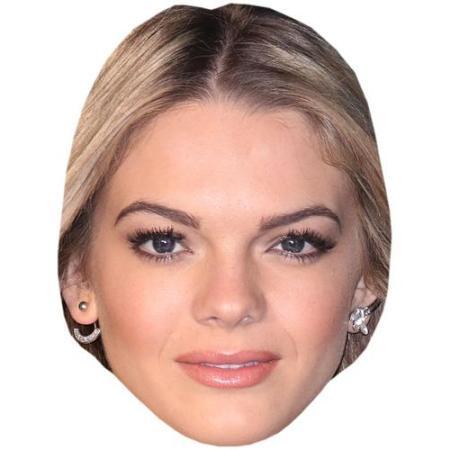 A Cardboard Celebrity Big Head of Louisa Johnson