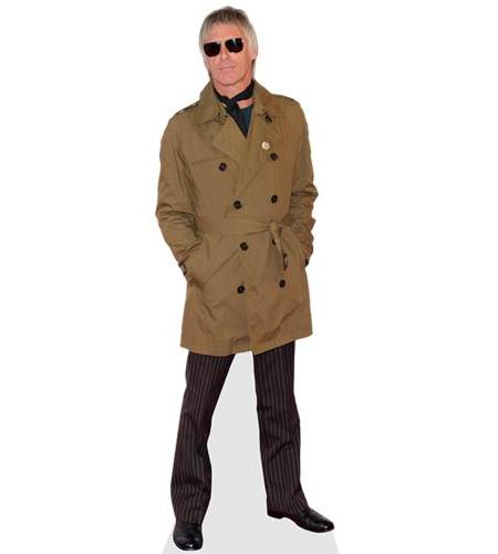 A Lifesize Cardboard Cutout of Paul Weller