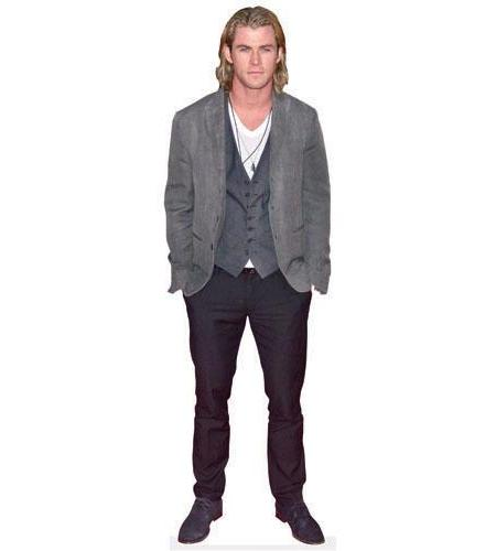 Chris Hemsworth (Long Hair)