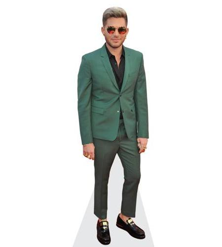 Adam Lambert (Green Suit)