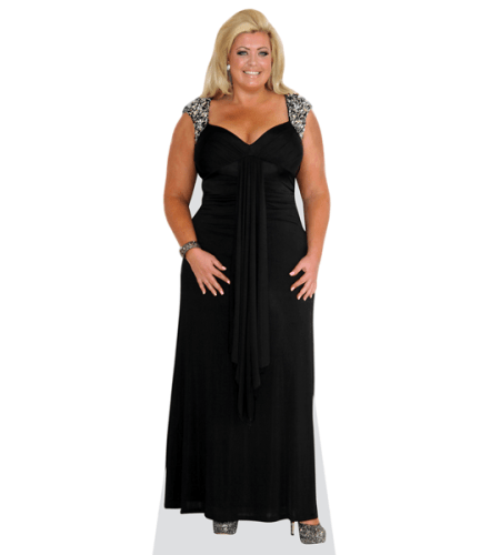 Gemma Collins (Black Dress)