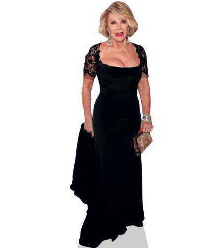 Joan Rivers (Black Dress)