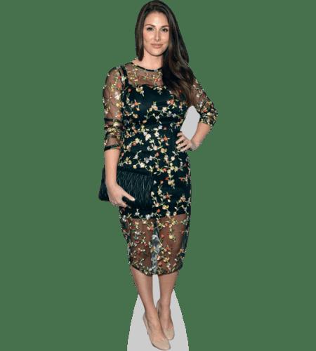 Standee. Edith Bowman mini size Long Dress Cardboard Cutout