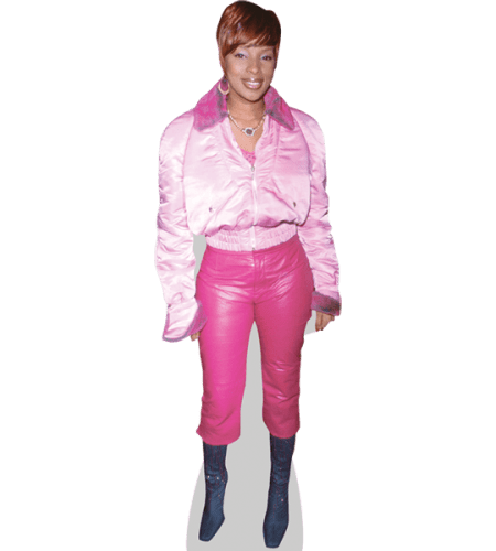 Mary J. Blige (Pink Outfit)