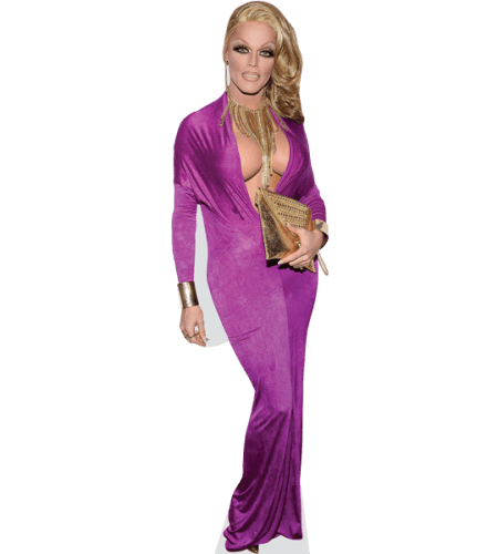 Morgan McMichaels (Purple Dress)