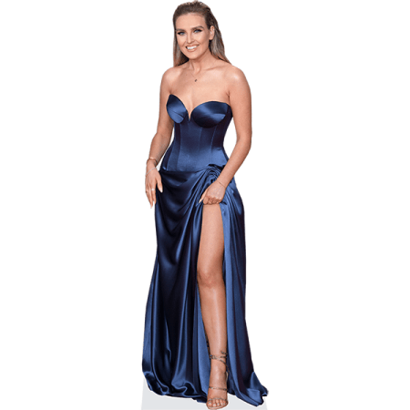 Perrie Edwards (Blue Dress)