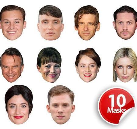 British Drama Series 1 Mask Pack
