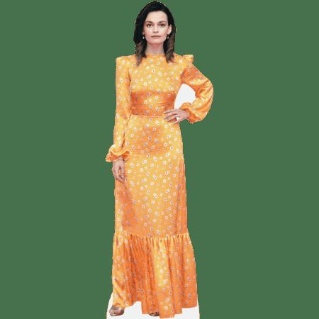 Emma Mackey (Flowery Dress)