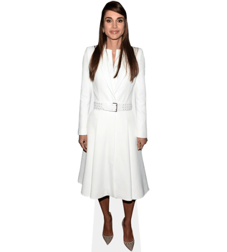 Queen Rania of Jordan (White Outfit)