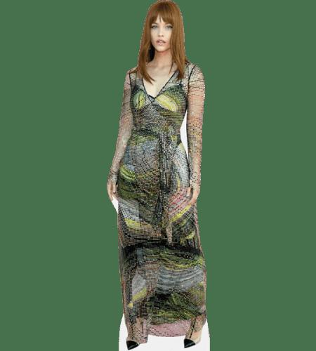 Barbara Palvin (Green Dress)