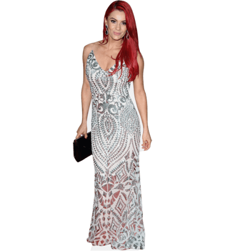 Dianne Buswell (White Dress)