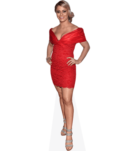 Paige VanZant (Red Dress)