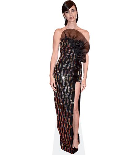 Paz Vega (Black Dress)