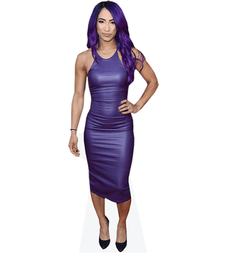 Sasha Banks (Purple Dress)