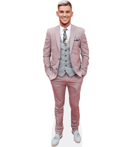 Kieron Richardson (Pink Suit)
